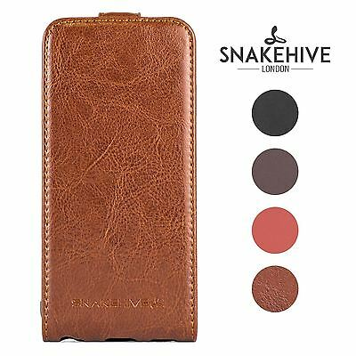 SNAKEHIVE® Premium Leather Flip Case Cover for Apple iPhone 6 / 6s