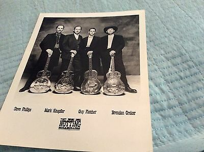 'THE NOTTING HILLBILLIES' ORIGINAL PROMO PRESS PHOTO 10'' x 8'' - FREE POST