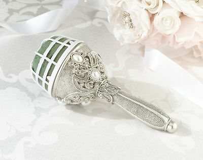 Jewelled Wedding Ceremony Bridal Flower Bouquet Holder