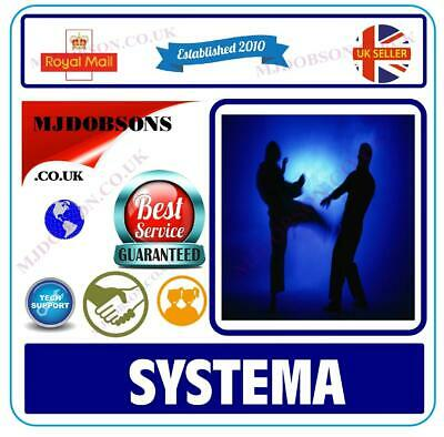 Systema Tuition Complete Self Defence Guide Dvd Hand 2 Hand✅ Combat(Md80)