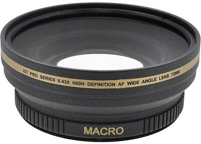 0.43x Wide Angle Lens for Canon L1 L2 XL1 XL2 XL1s XH G1s A1s