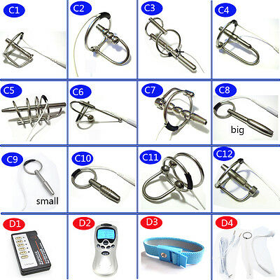 Stainless Steel DIY Electro Shock Sounding Stretcher  A243 C