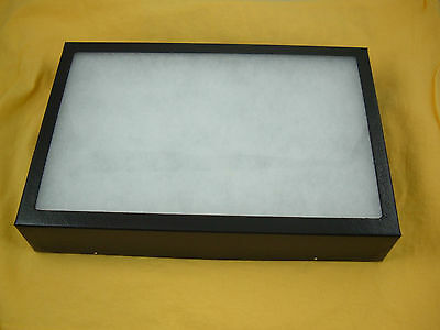 "one jewelry display box Riker Mount collectors frame 14 X 20 X 2"" collection"