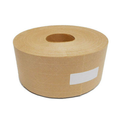 "Cobra 2-3/4"" x 450 Ft Reinforced Gummed Kraft Paper Tape Water Activated 1-Roll"