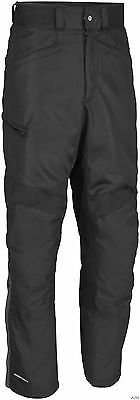 Mens Firstgear Mesh Tex Motorcycle Riding Pants Black CE Armor Vented Sale!