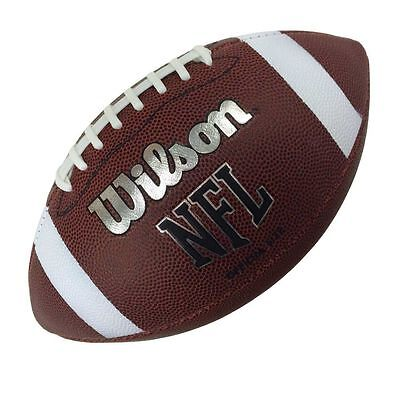 New Wilson Tdj Off Bin American Football Inflated Ready To Use Size 9 Senior