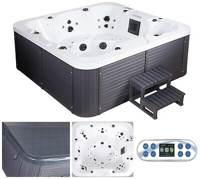 Whirlpool Outdoor Aussenwhirlpool Hot Tub Spa Pool Heizung bis 8 Pers.