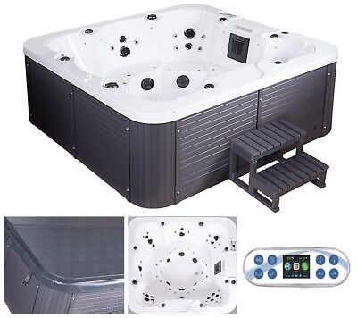 Whirlpool Outdoor Aussenwhirlpool Jacuzzi Hot Tub Spa Pool Heizung bis 8 Pers.