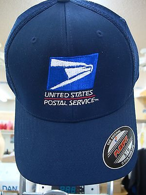 USPS, BASEBALL, CAP, HAT, Flex Fit Yupoon Air Mesh   UNITED STATES POSTAL. NAVY