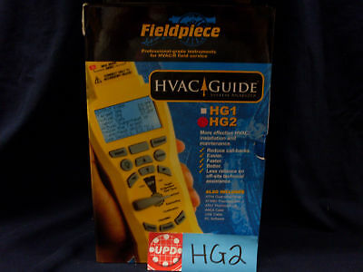 Fieldpiece Hg2  System Analyzer W/ Software