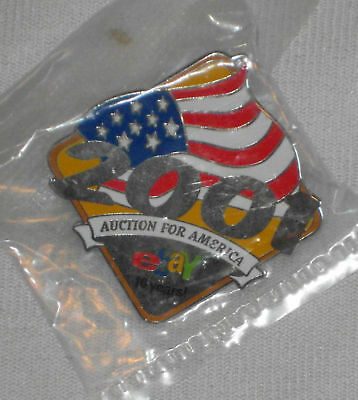 eBay 2001 Auctions for America 10 Years Pin