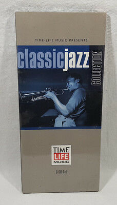 Time Life Music Classic Jazz Collection 3 CD Set Various Artists