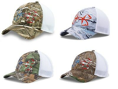 b7cade2779a ... uk under armour mens ua camo fish hook usa adjustable hat fishing  snapback cap 0aca7 6f480 ...