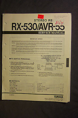 Yamaha Stereo Amplifiers & Receivers Service Manuals