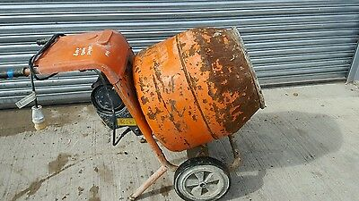 BELLE MINIMIX 150 2008 year 110 VOLT ELECTRIC CEMENT CONCRETE MIXER.