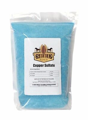 5 Pounds - Copper Sulfate Pentahydrate Powder (99% Pure)