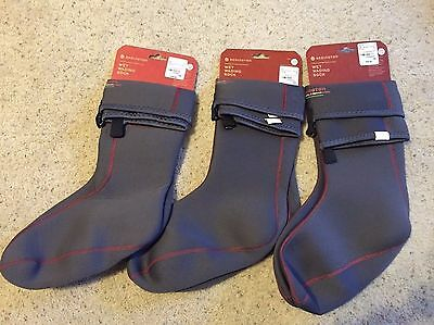 NEW REDINGTON Fly Fishing WET WADING SOCK Quick Drain Sole for Boots Men Sizes