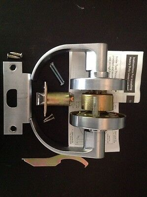 Passage Satin Chrome Grade 2 Commercial  Door Lock Lever left right hand Lockset