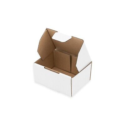 100x Mailing Box 100x75x50mm Die Cut Design for Small Accessories & Parts