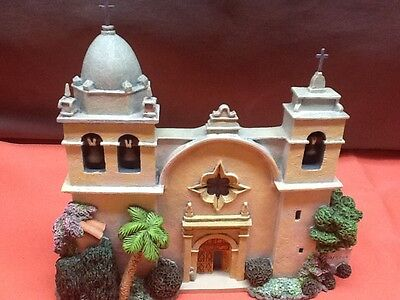 BRIAN BAKER COLLECTION  - CARMEL MISSION - NIB w/Deed & Crosses - Model 99702