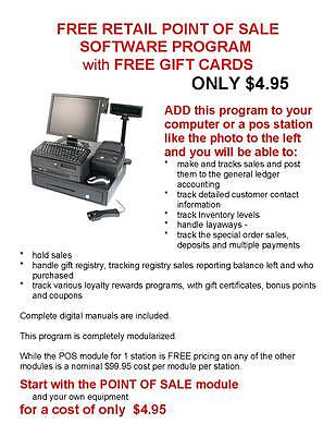 Retail Pos - Point Of Sale Management System Software Program For Only 4.95 !