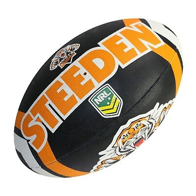 NRL Supporter Football - West Tigers - Game Size Ball - Size 5 - BNWT