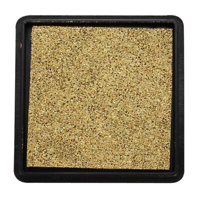 Ink pad stamp pad for wedding letter Document gold WS