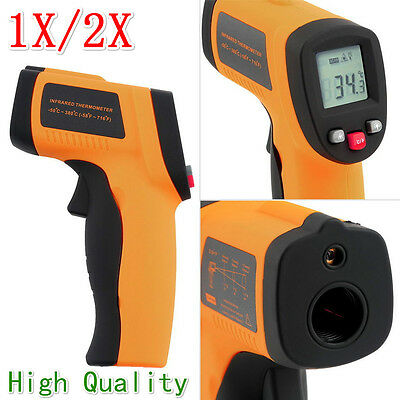 GM320 Handheld Thermometer Non Contact IR Laser Infrared Digital Temperature FT#