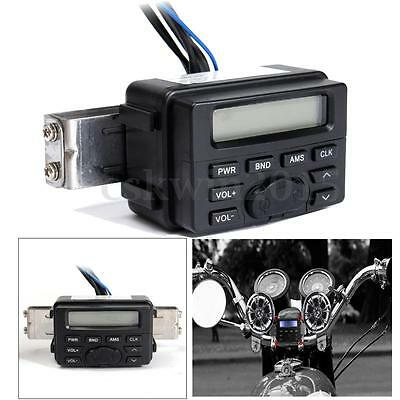 Waterproof Motorcycle FM MP3 Radio Sound Music Audio System For Honda Cruiser