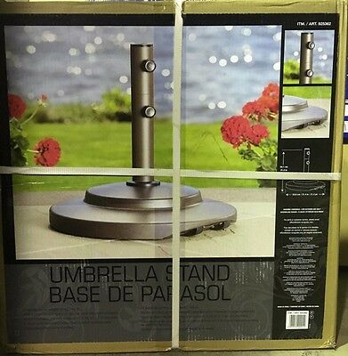 Umbrella Base With Built In Wheels For Ease Of Movement  Free Post Fast Delivery