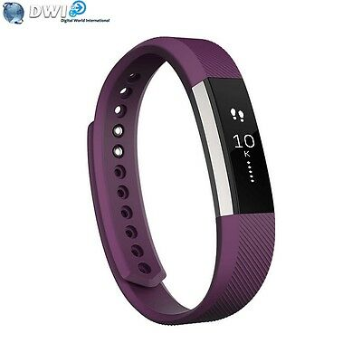 Brand New Fitbit Alta Fitness Activity Tracker Wrist Band Small Plum