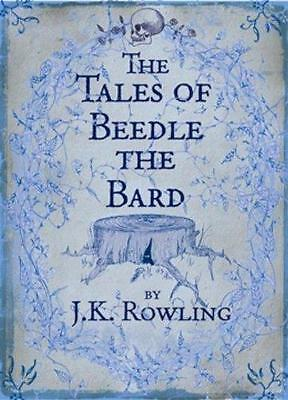 THE TALES OF BEEDLE THE BARD, STANDARD EDITION  1st Ed. Hardback NEW