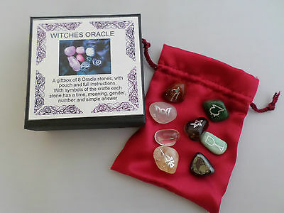Witches Oracle Crystal Gift Box.
