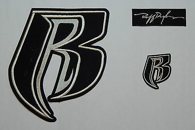 Ruff Ryders Mesh Applique / Patch Set of 3 - FREE Shipping