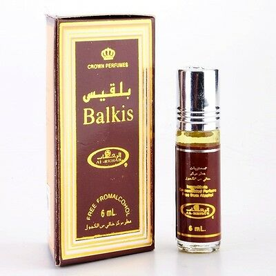 Balkis by Al Rehab Contemporary Perfume Oil/Attar 6ml Roll On Single Bottle