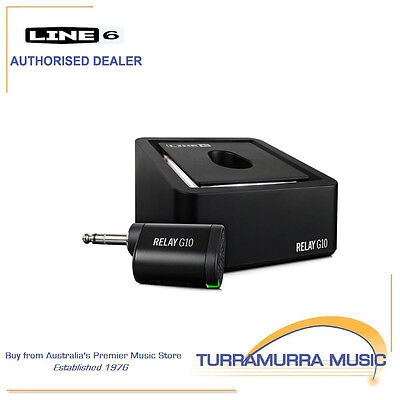 Line 6 Relay G10 Rechargable 2.4GHz Digital Wireless Guitar System