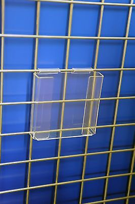 Gridwall Brochure Holder 1/3 A4 retail shop display