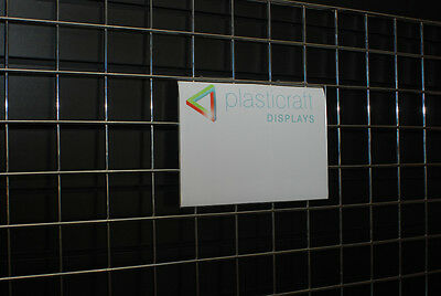 Gridwall Menu Holder A5 Portrait retail shop display