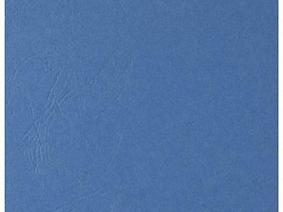 Binding Covers Leathergrain A4 300gsm Blue Pack 100