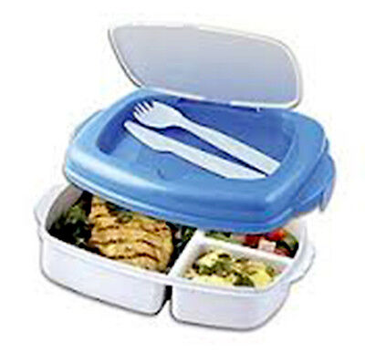 Lunch To Go - Cool Gear Lunchbox Plastic Food Box With Freezable Lid,two Colours