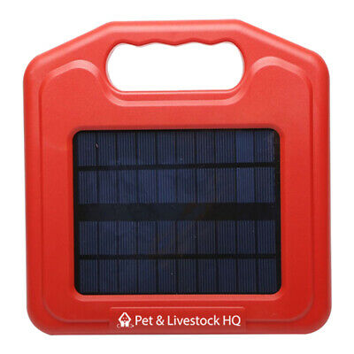 3km Solar Electric Fence Energiser Energizer Charger Power Horse Fencing Farm