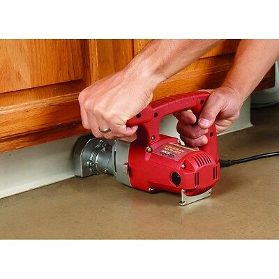 1 HP 3-3/8 in. Blade Toe-kick Saw  cut Flush up to a Wall or baseboard Tool