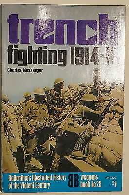 WW1 British Trench Fighting 1914-1918 Western Front Ballantine Reference Book