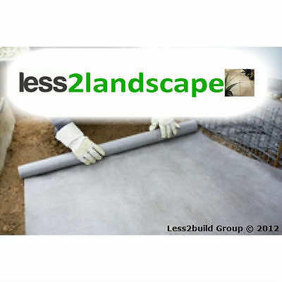 1mx15m Weed Control Fabric Membrane Barrier Landscape Ground Cover Plantex Style