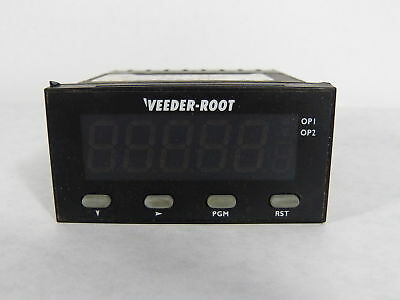 Veeder Root C628-50000 Counter 6 Digit Screen 90-264VAC 50/60HZ  USED