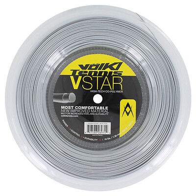 Volkl V-Star Tennis String 200m Reel 19 / 1.10mm - Silver