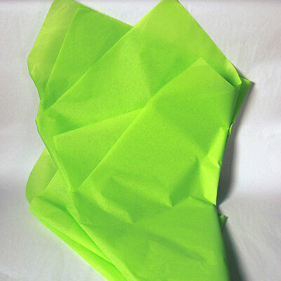 New Bright Lime Wrapping Tissue Paper - 480 Sheets! Free Shipping