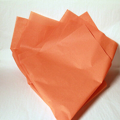 Burnt Sienna Wrapping Tissue Paper - 480 Sheets! Free Shipping