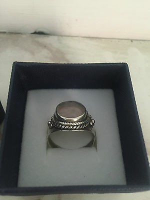 Anello DONNA ARGENT 925 woman silver ring Silberring Frau Bague argent femme OLD