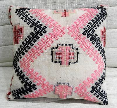 vintage pillow cushion cover decorative pillow vintage kilim sofa pillow 16 x16